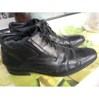 Ботинки Сапоги зимние мужские кожаные 45 размер
