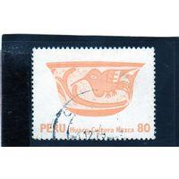 Перу.Ми-1119. Керамика Наска. 1979.