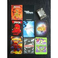 Куча игровых карточек