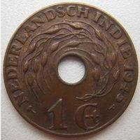 Нидерландская Индия 1 цент 1945 г. (P) (u)