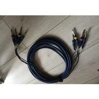 Фирменная коммутация для студии провод кабель длинна 6 метров