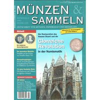 YS: Журнал Muenzen und Sammeln, май 2018, с актуальными ценами всех немецких монет с 1871 года до евро и некоторых монет евро