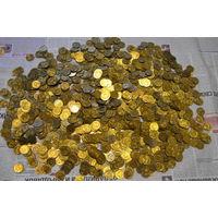 2,2 кг.банковских монет UNC номиналом 2 копейки 1991 года с рубля!!!