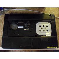 Нижняя часть корпуса ноутбука Compaq 615 c тачпадом и кнопкой включения