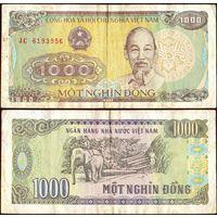 Вьетнам 1000 донг 1988 (серия JC)