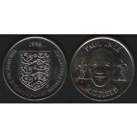 Official England Squad. Midfield. Paul Ince -- 1998 The Official England Squad Medal Collection (f01)