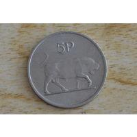 Ирландия 5 пенсов 1976