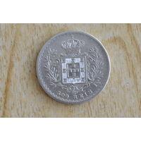 Португалия 500 рейс 1891(серебро 0.917)