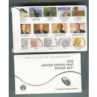 США Годовой пруф набор 2015г.