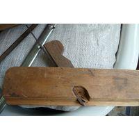 Рубанок деревянный с клеймом