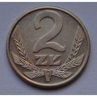 Польша 2 злотых, 1988 г.