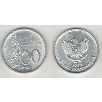 Индонезия km61 100 рупий 1999 год (al)(f15)