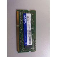 Оперативная память для ноутбука SO-DIMM DDR3 1Gb A-DATA PC-10600 AD73I1A0873EU (906268)