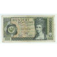 Австрия, 100 шиллингов 1969 год.