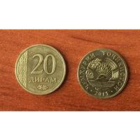 Таджикистан 20 дирамов 2015