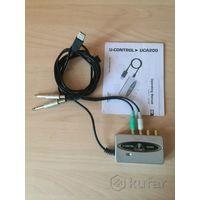 Внешняя USB звуковая карта UCA200 Behringer