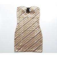 Суперское коктейльное платье р-р 42- 44