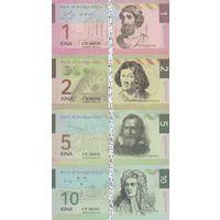 Бугенвиль Набор 7 банкнот 2016 UNC