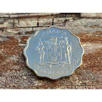 Ямайка. 10 долларов 2005.