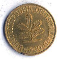 Германия (ФРГ), 10 пфеннигов 1990 (J)