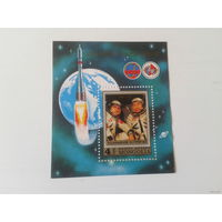 Монголия 1981 год космос