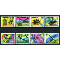 Руанда - 1977г. - Всемирный день телекоммуникаций - полная серия, MNH [Mi 873-880] - 8 марок