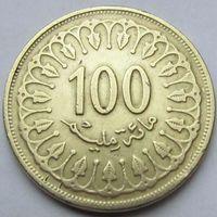 100 миллимов 1997 Тунис