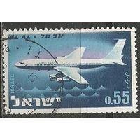 Израиль. Авиакомпания Эль Аль. 1962г. Mi#262.