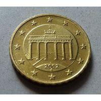 10 евроцентов, Германия 2002 A