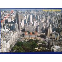 Бразилия Сан Пауло площадь Республики
