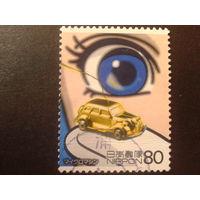 Япония 2005 глаз, автомобиль