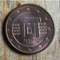 Мальта, 5 евроцентов 2015
