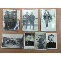 7 фото военных , 50-60 годы. БЕСПЛАТНАЯ ДОСТАВКА