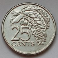 Тринидад и Тобаго, 25 центов 2008 г.