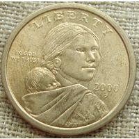 1 доллар 2000 США
