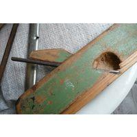 Рубанок деревянный 1952 г./ калевка