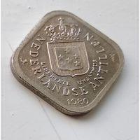 Нидерландские Антильские острова 5 центов, 1980 1-2-1