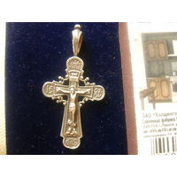Православный крест,серебро-925.