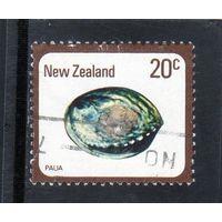 Новая Зеландия.Ми-760. Paua (Haliotis iris). Серия: Раковины и улитки. 1978.