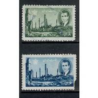 Иран /1966/Шах Мохаммед Рези Пехлеви. /2 марки