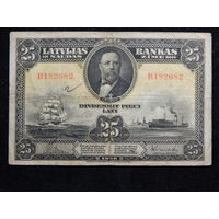 Латвия 25 латов 1928 г