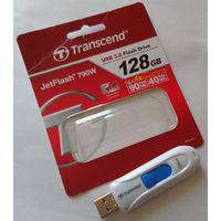 USB flash накопитель флешка JetFlash 790W 128 Gb Гб USB 2/3/3.1 (новая, гарантия, минус 9 руб)