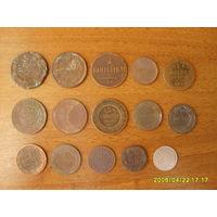 Монеты Российской империи. Можно выборочно.