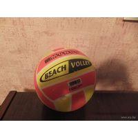 Мяч резиновый, яркий и красивый, диаметр 20 см. недолго б/у. обмен не интересует.