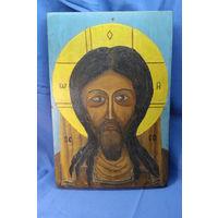 Икона Иисус. С РУБЛЯ! АУКЦИОН!