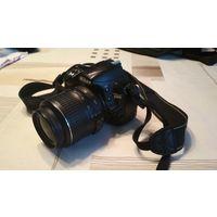 Зеркальный фотоаппарат Nikon D3100 с объективом 18-55мм
