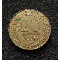 Франция, 20 сантим 1996