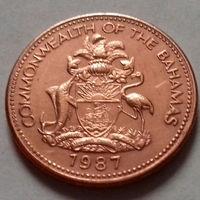 1 цент, Багамские острова (Багамы) 1987 г., UNC
