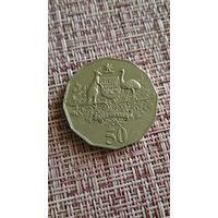 Австралия 50 центов 2001 г