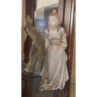 Фигурка FROG QUEEN фарфор, роспись, позолота. Германия, Rosenthal